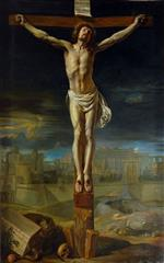 Philippe de Champaigne - Bilder Gemälde - Christ on the Cross