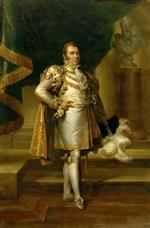 Francois Pascal Simon Gerard - Bilder Gemälde - Charles-Ferdinand of France in the Costume of a French Prince