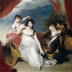 Thomas Lawrence - Bilder Gemälde - Henry Baring and Two of her Children