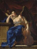 Eustache Le Sueur - Bilder Gemälde - Allegory of Poetry