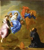 Eustache Le Sueur - Bilder Gemälde - Apparition of the Virgin to Saint Martin
