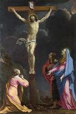 Eustache Le Sueur - Bilder Gemälde - Christ on the Cross