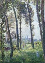 Henri Lebasque - Bilder Gemälde - Afternoon in the Clearing