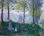 Henri Lebasque - Bilder Gemälde - Afternoon in the park