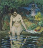 Henri Lebasque - Bilder Gemälde - Bather