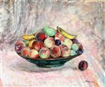 Henri Lebasque  - Bilder Gemälde - Coupe de Fruits
