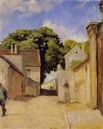 Henri Lebasque  - Bilder Gemälde - Entrance to the Village