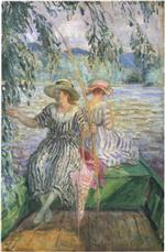 Henri Lebasque  - Bilder Gemälde - Fishing party