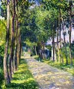 Henri Lebasque  - Bilder Gemälde - Horse and Carriage on a Sunny Road