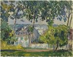Henri Lebasque  - Bilder Gemälde - House in the Trees