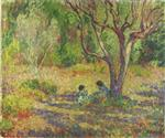 Henri Lebasque  - Bilder Gemälde - In the Garden