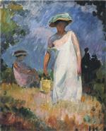 Henri Lebasque  - Bilder Gemälde - Mother with Child