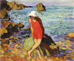 Henri Lebasque  - Bilder Gemälde - Nono by the Sea
