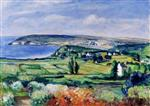 Henri Lebasque  - Bilder Gemälde - The Plain of Crozon, Finistere