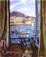 Henri Lebasque  - Bilder Gemälde - The Quay at St Pierre in Cannes