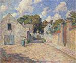Henri Lebasque  - Bilder Gemälde - The Village Entrance