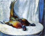 Henri Lebasque  - Bilder Gemälde - Two Pheasants