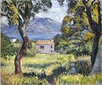 Henri Lebasque  - Bilder Gemälde - View at Esterel