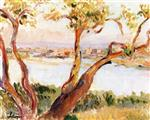 Henri Lebasque  - Bilder Gemälde - View of Antibes