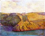 Henri Lebasque  - Bilder Gemälde - View of Pourville