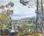 Henri Lebasque  - Bilder Gemälde - View of Saint Tropez