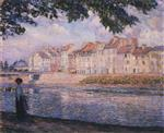 Henri Lebasque  - Bilder Gemälde - Walk by the River