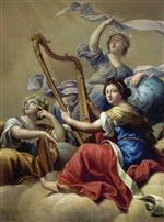 Bild:Calliope, Urania and Terpsichore