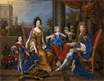 Pierre Mignard - Bilder Gemälde - James II and family