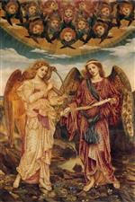 Evelyn De Morgan - Bilder Gemälde - Angels