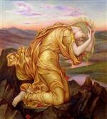 Evelyn De Morgan - Bilder Gemälde - Demeter Mourning for Persephone