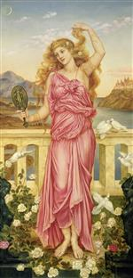 Evelyn De Morgan - Bilder Gemälde - Helen of Troy