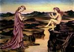 Evelyn De Morgan - Bilder Gemälde - Love, the Misleader