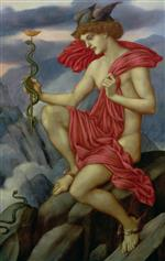 Evelyn De Morgan - Bilder Gemälde - Mercury