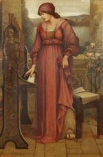 Evelyn De Morgan - Bilder Gemälde - Music Sweet Music