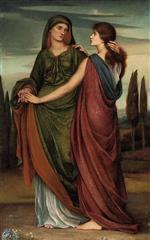 Evelyn De Morgan - Bilder Gemälde - Naomi and Ruth