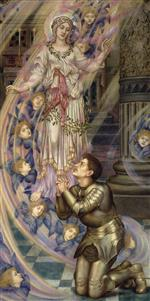 Evelyn De Morgan - Bilder Gemälde - Our Lady of Peace