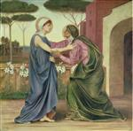 Evelyn De Morgan - Bilder Gemälde - Salutation or The Visitation