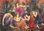 Evelyn De Morgan  - Bilder Gemälde - The Captives