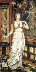 Evelyn De Morgan  - Bilder Gemälde - The Crown of Glory