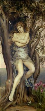 Evelyn De Morgan  - Bilder Gemälde - The Dryad