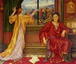 Evelyn De Morgan  - Bilder Gemälde - The Gilded Cage