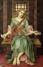Evelyn De Morgan  - Bilder Gemälde - The Soul's Prison House