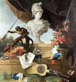 Jean Baptiste Oudry  - Bilder Gemälde - The Four Continents - Europe