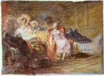 Joseph Mallord William Turner - Peintures - Un salon