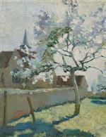 Gustave Loiseau - Bilder Gemälde - Apple Tree