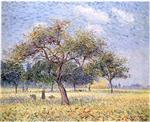 Gustave Loiseau - Bilder Gemälde - Apple Trees in October