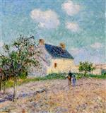 Gustave Loiseau - Bilder Gemälde - Apples Trees in Bloom