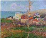 Gustave Loiseau - Bilder Gemälde - At the Coast of Normandy