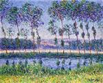 Gustave Loiseau - Bilder Gemälde - Banks of the Euro in Summer