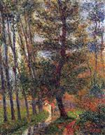 Gustave Loiseau - Bilder Gemälde - Banks of the Sausseron at Nesles